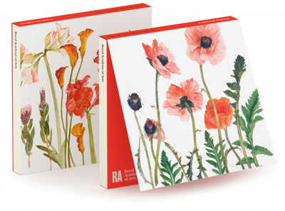Blackadder Flowers Notecards pkt 6