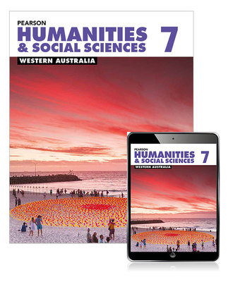 Pearson Humanities and Social Sciences Year 7 WA SB / EB SECONDHAND
