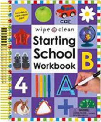 Starting School Activity Book - Wipe Clean Spiral
