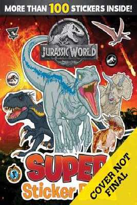 Jurassic World Super Sticker Book
