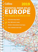 2019 - Essential Road Atlas Europe