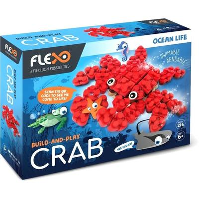 Flexo Build and Play Ocean Life Crab