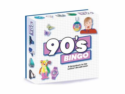 90's Bingo - A Throwback to the Raddest Decade Ever