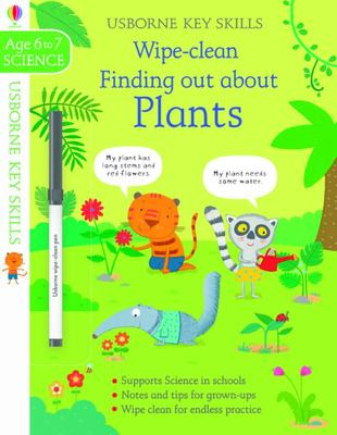Wipe Clean Finding Out about Plants 6-7