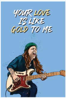 Card – Like Gold Tash Sultana