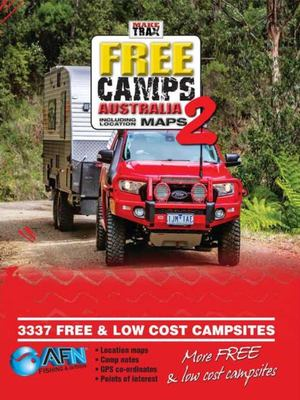 Make Trax Free Camps Australia 2 including location maps