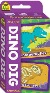 Dino Dig Flash Cards
