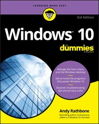 Windows 10 for Dummies 3rd ed.