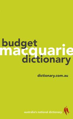 Macquarie Budget Dictionary