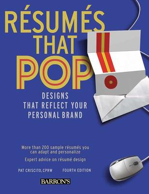 Resumes That Pop: Designs That Reflect Your Personal Brand