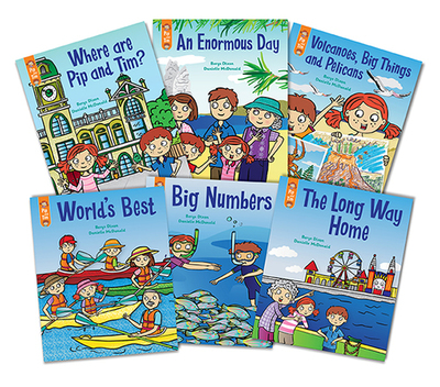 Little Learners Stage 7 Unit 5 Books 51-56