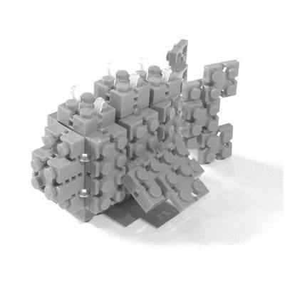 Flexo Build and Play Pack Grey Brick