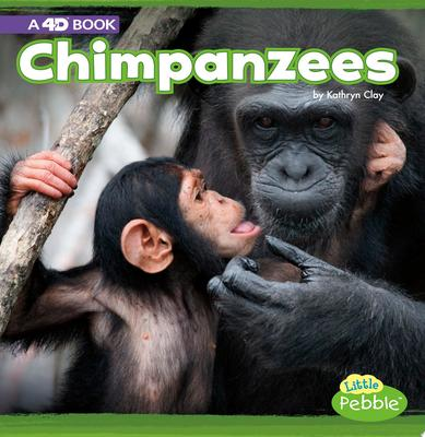 Chimpanzees - A 4D Book