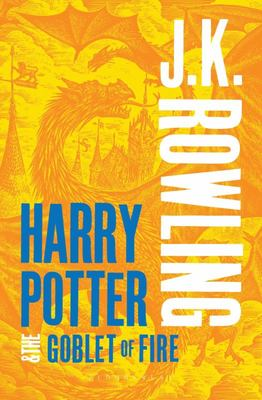 Harry Potter and the Goblet of Fire (adult re jacket)