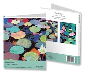 Waterlillies - Museums & Galleries -  8 cards & envelopes