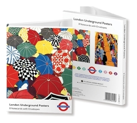 London Underground Poster cards - 8pk