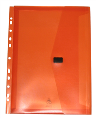 Polywally P326A Wallet Punched Orange - GNS