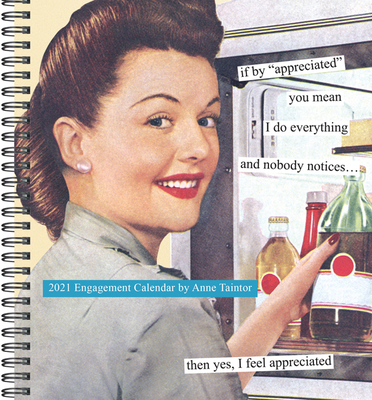 2021 Anne Taintor Engagement Diary