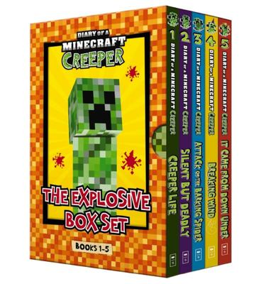 Diary  of a Minecraft Creeper: The Explosive Box set