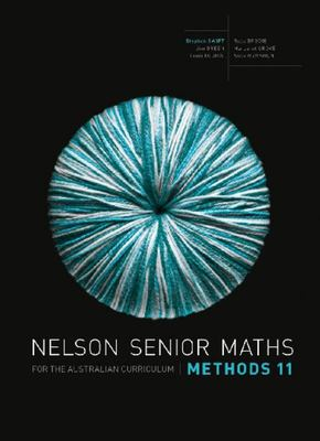 Nelson Senior Maths Methods 11 for the Australian Curriculum (Print & Digital) -SECONDHAND