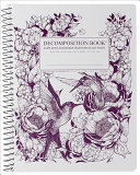 Hummingbirds Large Spiral Ruled Decomposition Notebook