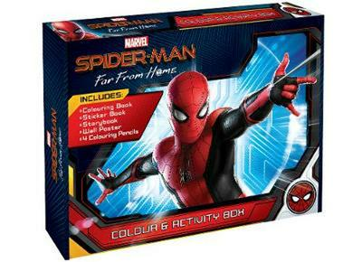 Spiderman Colour and Activity Box Set