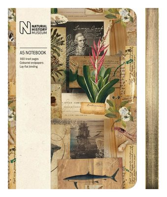 Captain Cook Scrapbook A5 Luxury Notebook