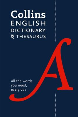 Collins English Dictionary and Thesaurus Paperback Edition - All-In-one Support for Everyday Use