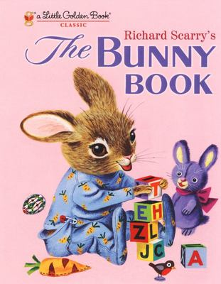 LGB The Bunny Book - Little Golden Book