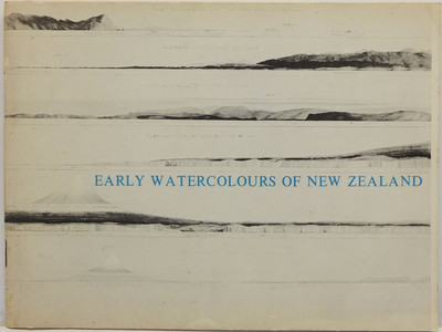 Early Watercolours of New Zealand