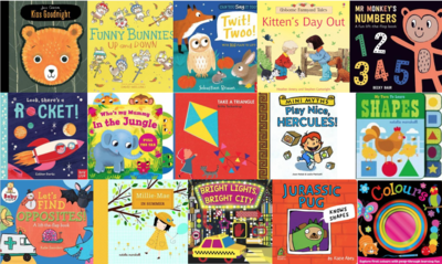 Early Learning 0-2 Years Book Box