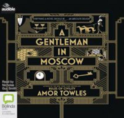 A Gentleman in Moscow (Audio CD; unabridged; 15 CDs)