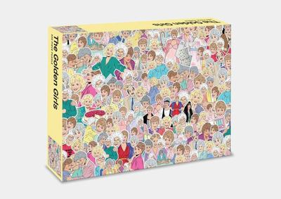 The Golden Girls – 500pc Jigsaw Puzzle