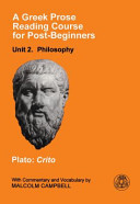 Greek Prose Reading Course for Post-Beginners: Philosophy