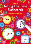 Telling the Time Flash Cards with wipe-clean Pen