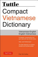 Tuttle Compact Vietnamese Dictionary:Vietnamese-English English-Vietnamese