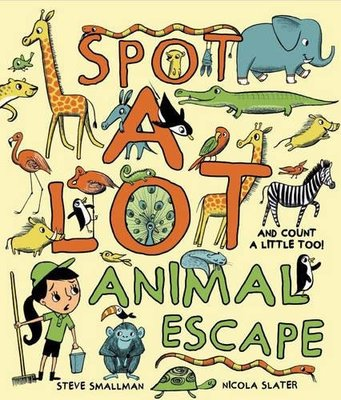 Spot a Lot Animal Escape - And Count a Little Too!