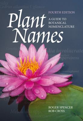 Plant Names - A Guide to Botanical Nomenclature 4th ed