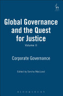 Global Governance and the Quest for Justice Volume 2: Corporate Governance