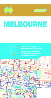 Melbourne Suburbs and City Centre Map 318 9th Ed