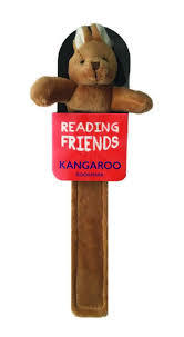 Kangaroo Plush Bookmark (RF006) Reading Friends