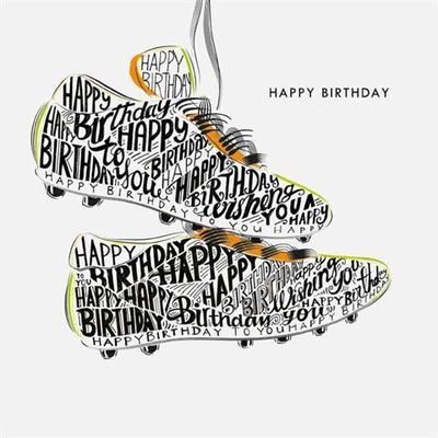 Card - Birthday Boots