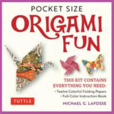 Pocket Size Origami Fun Kit - This Kit Contains Everything You Need to Make 7 Exciting Paper Models