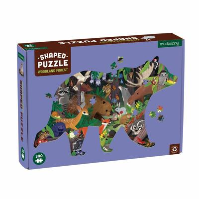 Woodland Forest 300 Piece Shaped Scene Puzzle