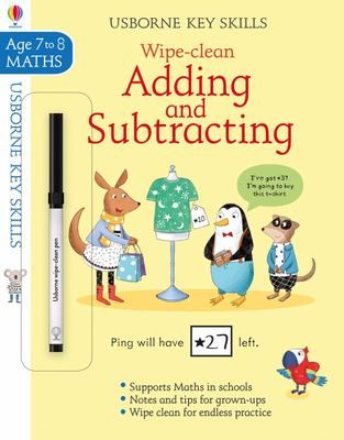 Adding and Subtraction (Usborne Key Skills: Wipe Clean)
