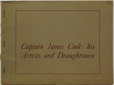 Captain James Cook His Artists And Draughtsmen