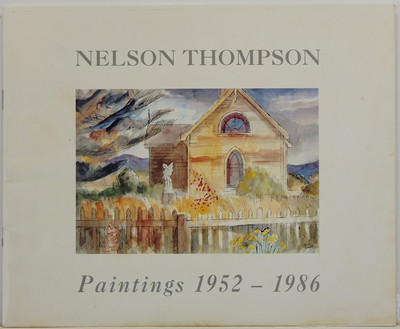 Nelson Thompson - Paintings 1952-1986