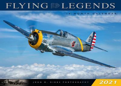 Flying Legends 2021 - 16 Month Calendar September 2020 Through December 2021