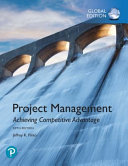 Project Management - Achieving Competitive Advantage, Global Edition