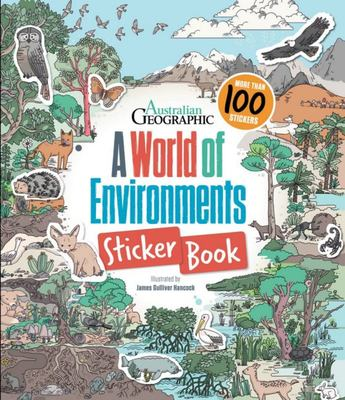 A World of Environments - Sticker Book